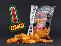 Blairs Habanero Chips