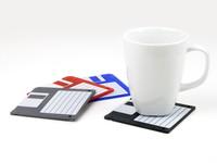 Floppy Disk Glasbrikker