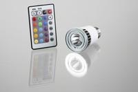 LED-lampe med fjernbetjening