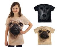 Big Face T-shirts til Børn