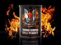 Trinidad Scorpion Chilli Peanuts