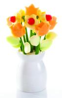 Flower Power frugtbuket